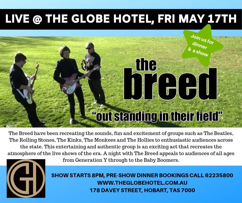 The Breed @ The Globe Hotel 17th May 2019