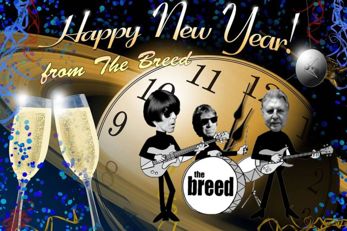 Happy New Year from The Breed